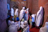 Lalibela / bezoek kerken