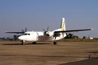 vlucht naar Addis Abeba